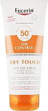 Parfémy, Parfumerie, kosmetika Opalovací ultra lehký gel-krém s matujícím efektem - Eucerin Oil Control Dry Touch Sun Gel-Cream SPF50+