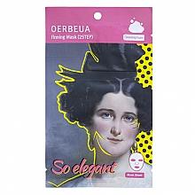 Parfémy, Parfumerie, kosmetika 2-stupňový systém péče o obličej - Oerbeua So Elegant Mask Sheet
