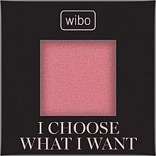 Tvářenka na obličej - Wibo I Choose What I Want Blusher (náhradní náplň) — foto N1