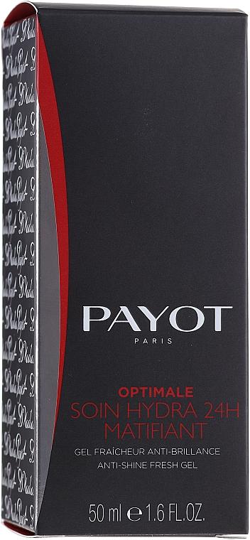 Osvěžující a matujicí gel - Payot Optimale Homme Soin Hydra 24H Matifiant  — foto N1