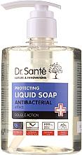 Parfémy, Parfumerie, kosmetika Antibakteriální mýdlo na ruce Čajový strom a levandule - Dr. Sante Antibacterial Liquid Soap Double Action