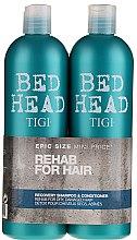 Parfémy, Parfumerie, kosmetika Sada - Tigi Bed Head Recovery Shampoo&Conditioner (sh/750ml + cond/750ml)