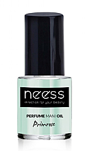 Parfémy, Parfumerie, kosmetika Olej na nehty - Neess Perfume Mani Oil Primrose