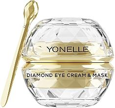 Parfémy, Parfumerie, kosmetika Očni krém-maska - Yonelle Diamond Eye Cream & Mask
