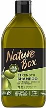 Parfémy, Parfumerie, kosmetika Šampon s olivovým olejem na péči o dlouhé vlasy - Nature Box Shampoo Olive Oil