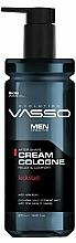 Parfémy, Parfumerie, kosmetika Krém-kolínska voda po holení - Vasso Professional Men After Shave Cream Cologne Kick Start