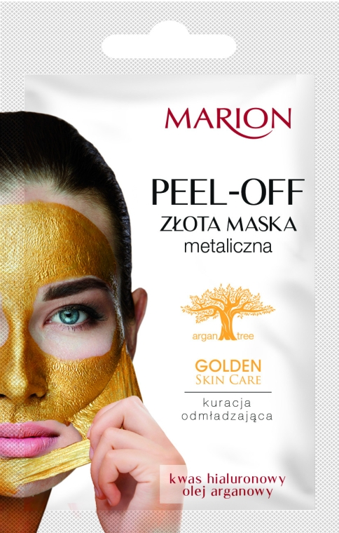 Maska na obličej - Marion Golden Skin Care Peel-Off Mask