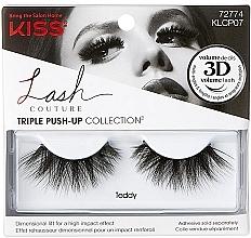 Parfémy, Parfumerie, kosmetika Umělé řasy - Kiss Lash Couture Triple Push Up False Collection Teddy