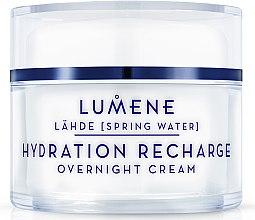 Parfémy, Parfumerie, kosmetika Noční hydratační a obnovující krém - Lumene Lahde Hydration Recharge Overnight Cream