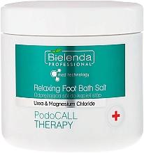 Parfémy, Parfumerie, kosmetika Sůl na pokožku noh - Bielenda Professional PodoCall Therapy Relaxing Foot Bath Salt