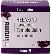 Parfémy, Parfumerie, kosmetika Pleťový balzám s esenciálním levandulovým olejem - Holland & Barrett Miaroma Relaxing Lavender Temple Balm