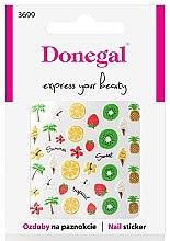Parfémy, Parfumerie, kosmetika Nálepky na nehty, 3699 - Donegal