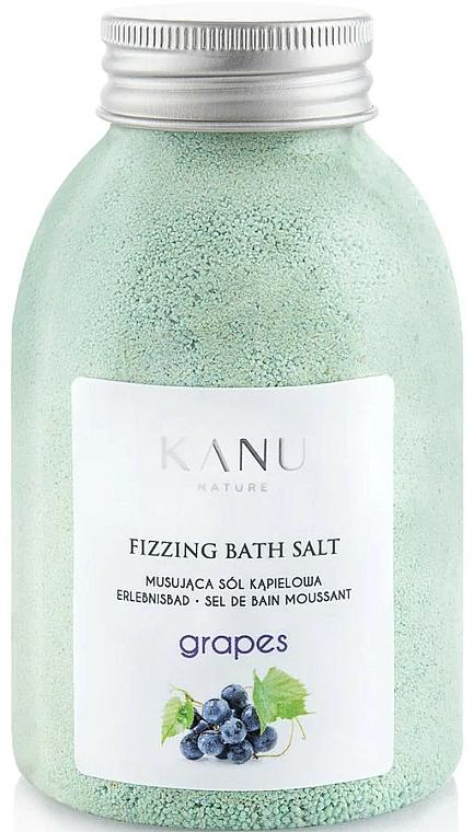 Šumivá sůl do koupele Hrozny - Kanu Nature Grapes Fizzing Bath Salt