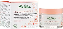 Parfémy, Parfumerie, kosmetika Výživný balzám na obličej - Melvita Nectar de Miels Baume Confort Haute Nutrition