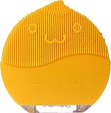 Parfémy, Parfumerie, kosmetika Čisticí kartáč na obličej BR-030, žlutý - Lewer