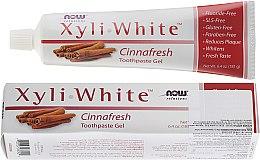 Parfémy, Parfumerie, kosmetika Zubní pasta gel se skořicí - Now Foods XyliWhite Toothpaste Gel