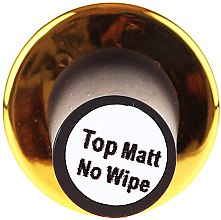 UV Vrchní lak na nehty matný - F.O.X Top Matte No Wipe — foto N5
