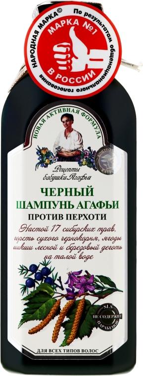 Černý šampon Agafya proti lupům - Recepty babičky Agafyy