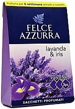 Parfémy, Parfumerie, kosmetika Vonný sáček Levandule a iris - Felce Azzurra Sachets Lavender and Iris