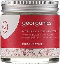 Parfémy, Parfumerie, kosmetika Přírodní zubní prášek - Georganics Eucalyptus Natural Toothpowder