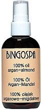 Parfémy, Parfumerie, kosmetika Olej na vlasy s arganově mandlovým olejem - BingoSpa