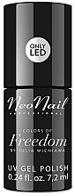 Parfémy, Parfumerie, kosmetika Gel lak na nehty - NeoNail Professional Colors Of Freedom By Julia Wieniawa
