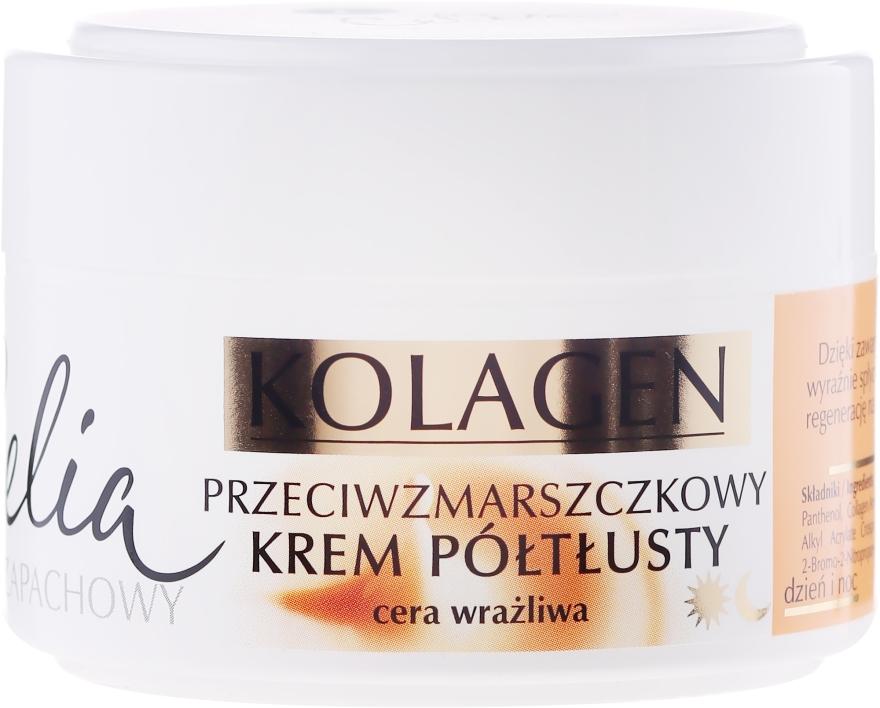 Krém proti vráskám pro citlivou plet' - Celia Collagen Cream