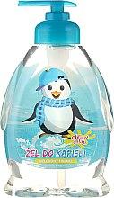 Parfémy, Parfumerie, kosmetika Dětský sprchový gel Tučňák - Chlapu Chlap Bath & Shower Gel