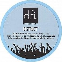 Parfémy, Parfumerie, kosmetika Styling-krém na vlasy - D:fi D:struct Medium Hold Molding Cream