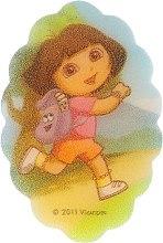 Parfémy, Parfumerie, kosmetika Dětská koupelová houba Dora průzkumnice, 169-4 - Suavipiel Dora Bath Sponge