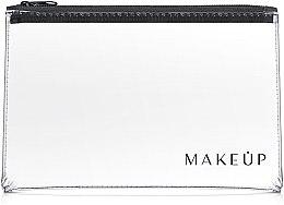 """Parfémy, Parfumerie, kosmetika Transparentní kosmetická taštička """"Flat Glow"""" 26x16cm - MakeUp"""