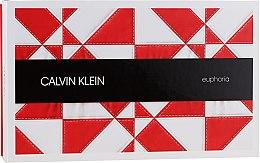 Parfémy, Parfumerie, kosmetika Calvin Klein Euphoria - Sada (edp 100ml + mini 10ml + b/l 200ml)
