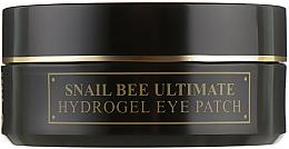 Parfémy, Parfumerie, kosmetika Hydrogelové náplasti s hlemýždím mucinem a včelím jedem - Benton Snail Bee Ultimate Hydrogel Eye Patch