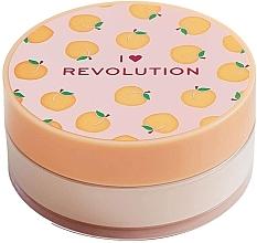 Parfémy, Parfumerie, kosmetika Sypký pudr na obličej Broskev - I Heart Revolution Loose Baking Powder Peach