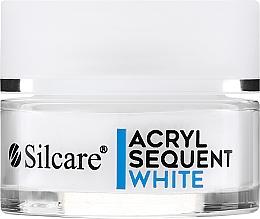 Parfémy, Parfumerie, kosmetika Akrylový pudr na prodloužení nehtů - Silcare Sequent LUX