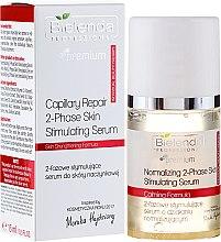 Parfémy, Parfumerie, kosmetika Intenzivní dvoufázový sérum pro cévní síťku na obličeji - Bielenda Professional Capilary Repair 2-Phase Skin Simulating Serum