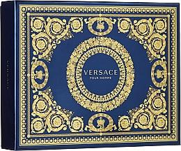 Parfémy, Parfumerie, kosmetika Versace Pour Homme - Sada (edt/50ml + sh/g/50ml + ash/balm/50ml)