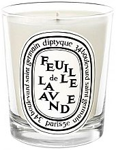 Parfémy, Parfumerie, kosmetika Aromatická svíčka - Diptyque Feuille de Lavande Candle