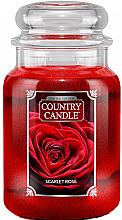 Parfémy, Parfumerie, kosmetika Vonná svíčka v plechovce - Country Candle Scarlet Rose