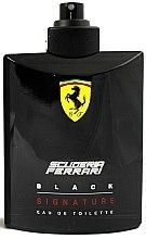 Parfémy, Parfumerie, kosmetika Ferrari Scuderia Ferrari Black Signature - Toaletní voda (tester bez víčka)