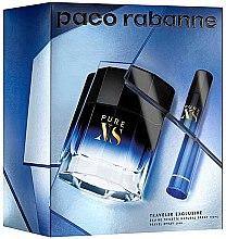 Parfémy, Parfumerie, kosmetika Paco Rabanne Pure XS - Sada (edt/100ml + edt/mini/20ml)
