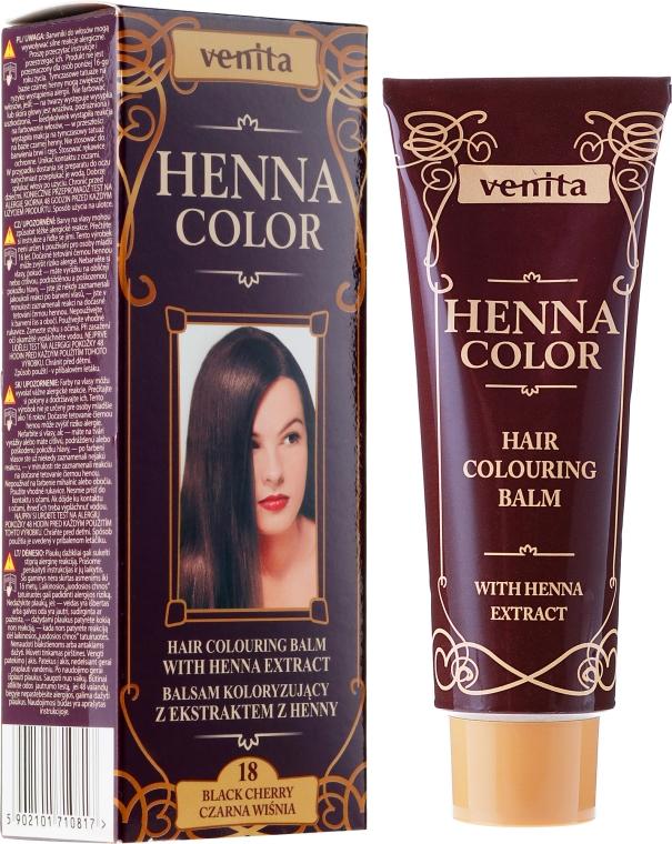 Balzám na vlasy s extraktem henny - Venita Henna Color