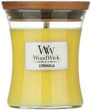 Parfémy, Parfumerie, kosmetika Vonná svíčka ve sklenici - WoodWick Citronella Medium Candle