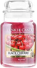 """Parfémy, Parfumerie, kosmetika Aromatická svíčka """"Černá višeň"""" - Yankee Candle Scented Votive Black Cherry"""