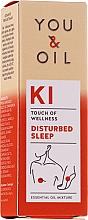 Parfémy, Parfumerie, kosmetika Směs esenciálních olejů - You & Oil KI-Disturbed Sleep Touch Of Welness Essential Oil