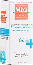 Parfémy, Parfumerie, kosmetika Hydratační krém pro normální a kombinovanou pleť - Mixa Sensitive Skin Expert 24 HR Moisturising Cream