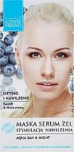 Parfémy, Parfumerie, kosmetika Maska-sérum na obličej s extraktem z borůvek - Czyste Piekno Face Mask Serum Gel