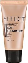 Parfémy, Parfumerie, kosmetika Matující make-up - Affect Cosmetics Perfect Matt Foundation