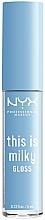 Parfémy, Parfumerie, kosmetika Lesk na rty - NYX Professional Makeup This Is Milky Gloss Lip Gloss