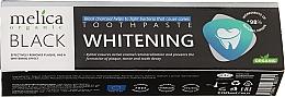 Parfémy, Parfumerie, kosmetika Zubní pasta s černým uhlím - Melica Organic Toothpaste Whitening Black